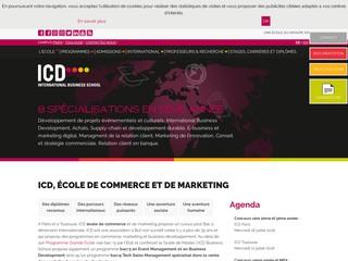 ICD : École de commerce et de Marketing