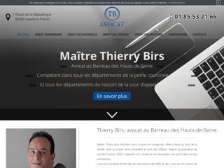 Avocat en droit de la famille à Levallois-Perret, Maître Thierry Birs