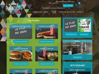 Entre Parenthèses - Snack-Bar à Caen