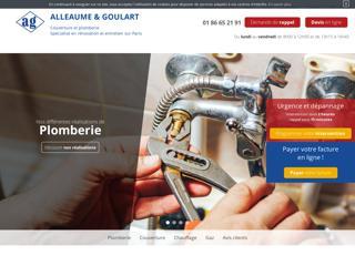 Couvreur Paris 18e - Alleaume & Goulart