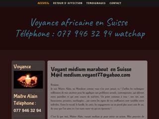 Maitre Alain, médium professionnel en Suisse
