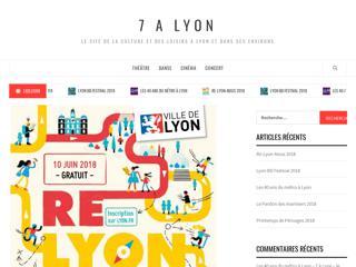 7 à Lyon, culture et loisirs à Lyon