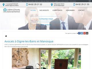 Cabinet d'avocats à Digne-les-Bains