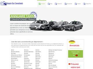 Annuaire Taxis Conventionnés France