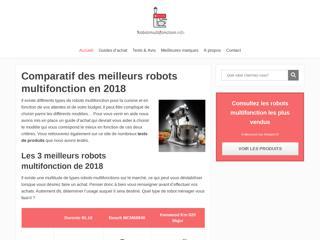Comparateur des meilleurs robots multifonction en 2018