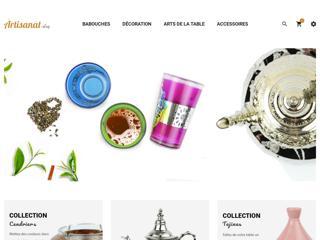 Artisanat shop boutique d'artisanat marocain