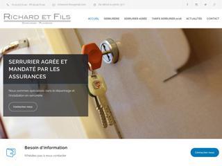 Richard & Fils, un serrurier à Paris et communes avoisinantes