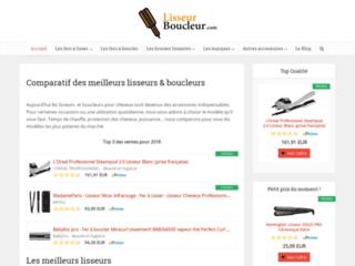 Lisseur boucleur : comparatif et guide d'achat