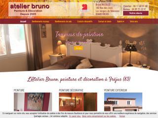 Peinture : Atelier Bruno à Fréjus (83)