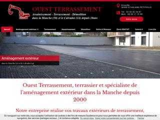 Terrassier : Ouest Terrassement à SAINT-HILAIRE-PETITVILLE (50)