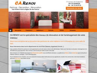 Peinture : CA RENOV à SANNOIS (95)