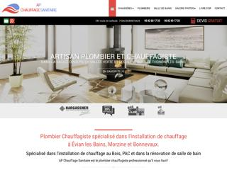Chauffages : AP Chauffage Sanitaire à BONNEVAUX (74)