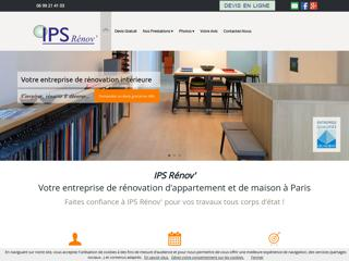 Rénovation : IPS RENOV à PARIS (75)