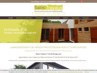 Construction : Satis Travaux à RIS ORANGIS (91)