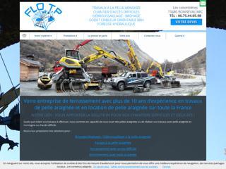 Terrassement : FLO TP à BONNEVAL SUR ARC (73)
