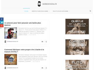 Barbedeviking le site qui prend soin de votre barbe