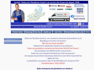 Société Delacroix, plomberie à Genève