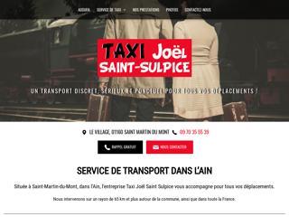 Taxi Joël Saint Sulpice