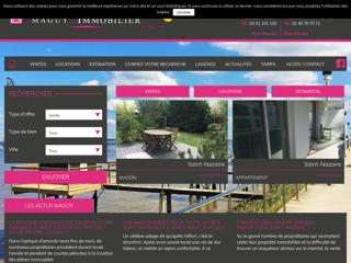 Maguy : agence immobilier Saint-Nazaire