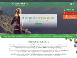 Aujourd'hui Bio, boutique et épicerie bio à Paris