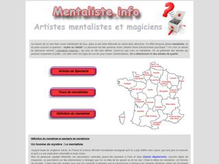 Artistes mentalistes en France