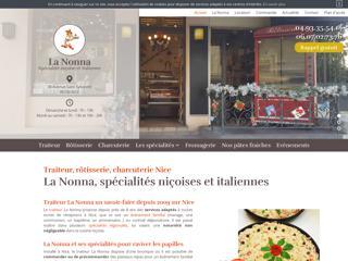 Traiteur La Nonna Nice - Spécialités Niçoises