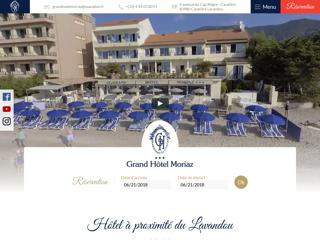 Hôtel dans le Var avec plage privée