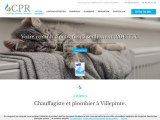 Chauffages : CPR à Villepinte (93)