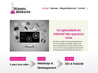 Atomic website