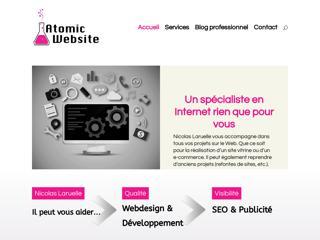 Atomic website