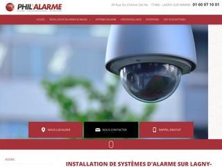Installation vidéosurveillance Lagny