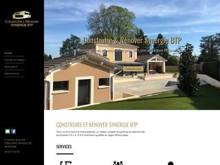 Courtier en Travaux - Construire et rénover Synergie BTP - Rhône-Alpes