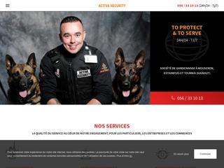 Active Securitypour la sécurité de vos locaux