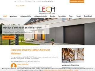 Rénovation : LECA à Villetaneuse (93)