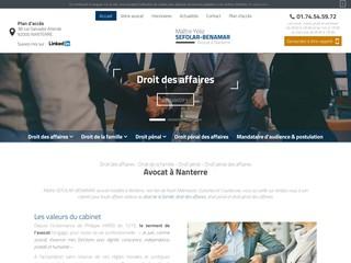 Avocat en droit des affaires à Nanterre