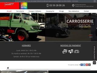 Votre carrossier pour camion à Valanciennes