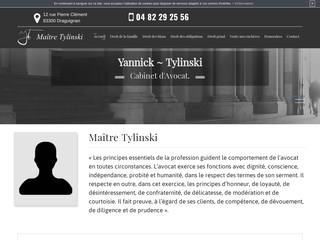 Votre avocat à Draguignan : Maître Yannick Tylinski