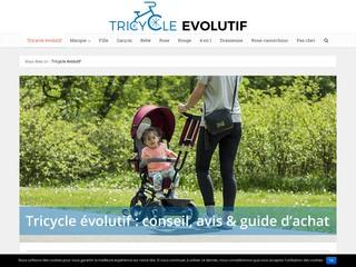 Tricycle évolutif pour enfants