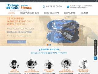 Les tarifs de la salle de sport orange bleue à Strasbourg