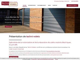 Menuiserie : Techni-Volets à Lyon (69)