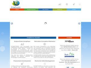 Ecométhodes - audit et solutions d'économie d'énergie à  Caen