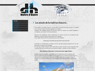 DLH - maître d'oeuvre en maisons individuelles à Caen