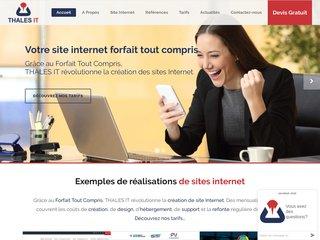 Thales IT - Design internet à prix forfaitaire