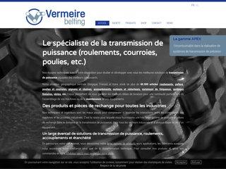 Votre spécialiste en poulies et courroies en Belgique: Vermeire-Belting