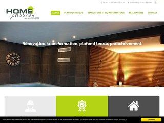 Plafonds tendus en Belgique: Home Passion