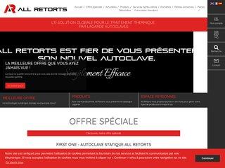 Solution numérique de traitement par autoclave: All Retorts