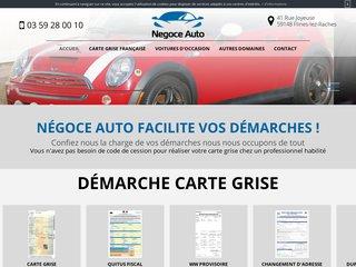 Service de carte grise à Flines-lez-Raches : Négoce automobile