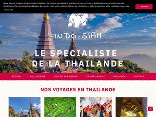 Agence de voyages en Thaïlande : Indo Siam