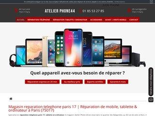 Magasin de réparation téléphone à Paris