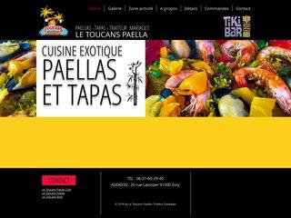 LE TOUCANS PAELLA TRAITEUR TROPICAL
